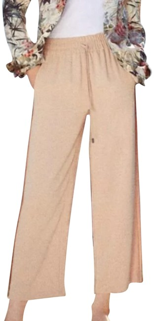Item - Nude Pink With Stretch Waist and Pockets Pants Size 4 (S, 27)