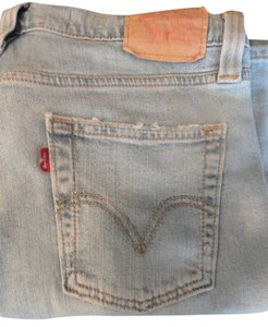 Levis Boot Cut Jeans-Light Wash