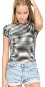 Brandy Melville Top Houndstooth