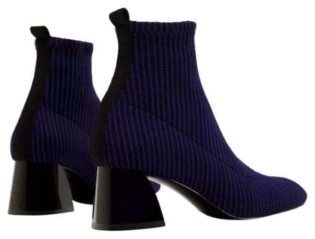 Item - Blue Sock Style Boots/Booties Size US 10 Regular (M, B)