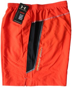 Under Armour Dry Fit Performance Orange Shorts
