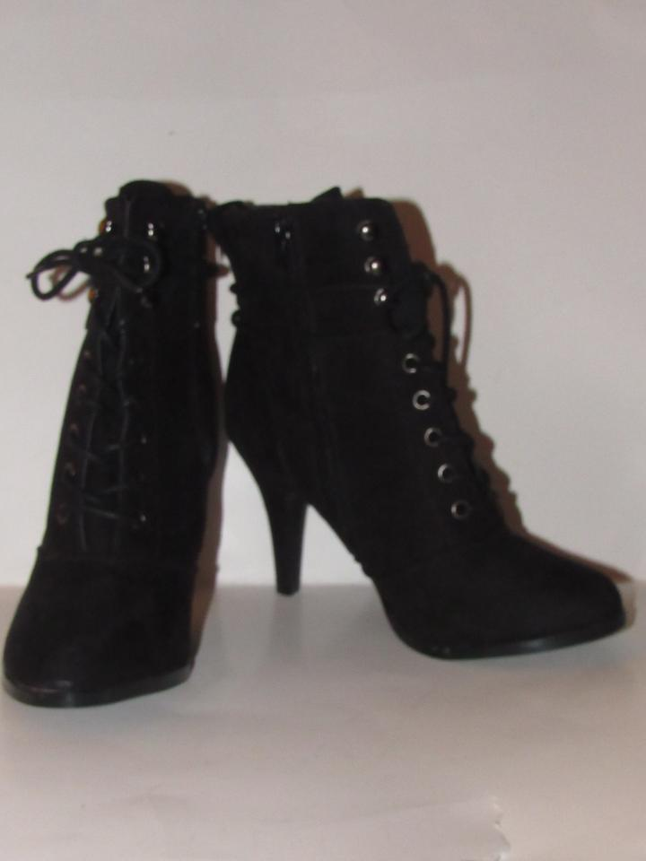 a4898a709d Diba Black Lace Up Zip Box Shoes/New In Boots/Booties Size US 7 ...
