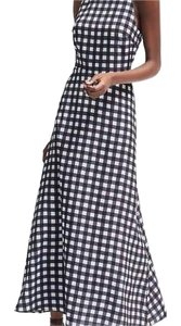 black white Maxi Dress by Banana Republic