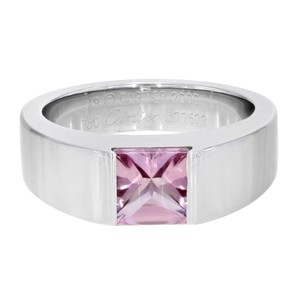 Cartier Pink Tourmaline Ring Tank (18966)