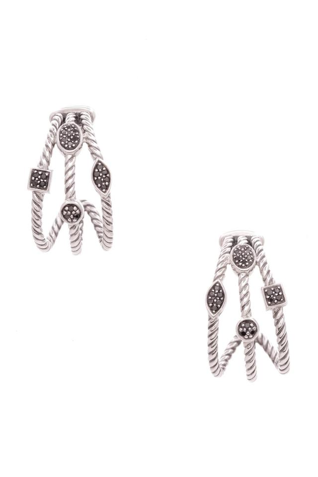 David Yurman Confetti Earrings Black Diamond