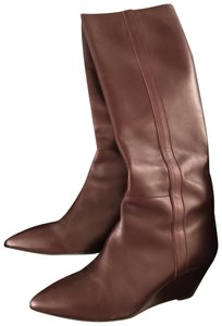 Kurt Geiger London Knee High Burgundy Boots