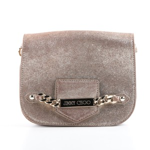 98445014c6 Jimmy Choo Shadow Chain Orchid Pink Leather Cross Body Bag - Tradesy
