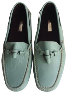 Calvin Klein Collection Turquoise Flats