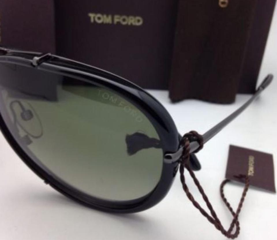 87dfc7b9d760d Tom Ford Polarized TOM FORD Sunglasses CYRILLE 109 08R 63-10 Gunmetal  Aviator Image 11. 123456789101112