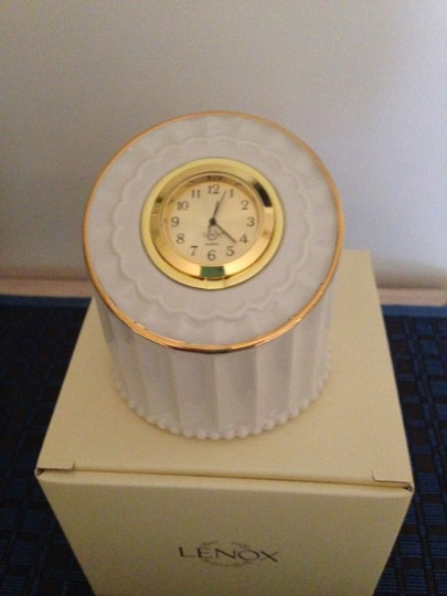 Lenox Timely Traditions First Light Clock Nib