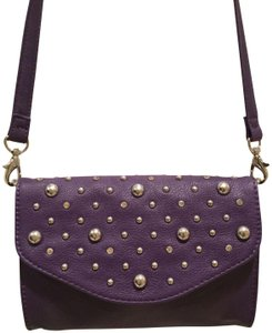 Grace Adele Studded Rhinestones Clutch Embellished Convertible Cross Body Bag