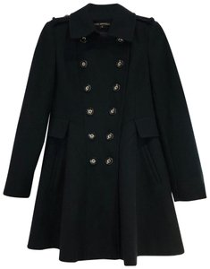 Via Spiga Military Wool Pea Coat