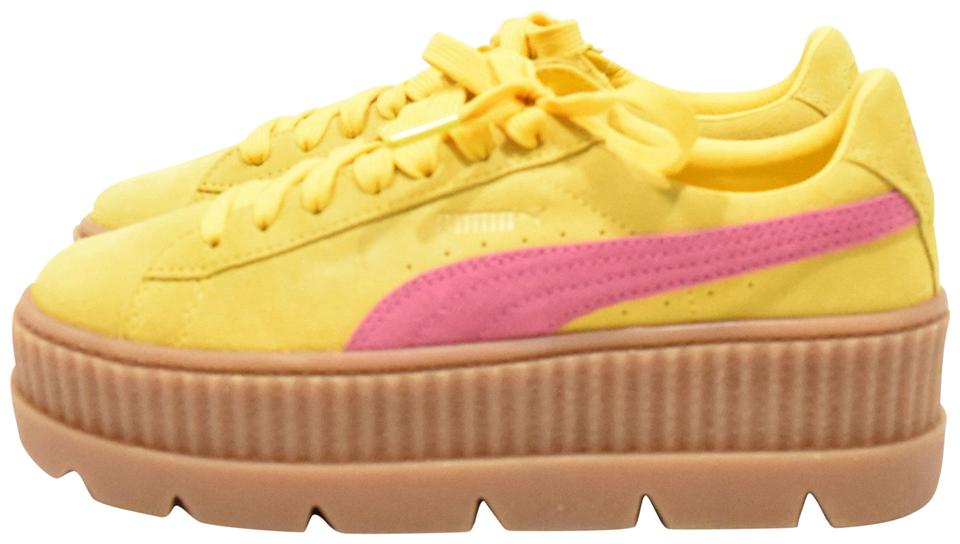 new arrive 6d98d 36ecf FENTY PUMA by Rihanna Lemon Cleated Creeper Sneaker Platforms Size US 8  Regular (M, B) 40% off retail