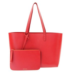 Mansur Gavriel Tote in Red