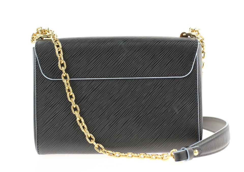 Louis Vuitton Twist Mm Black Leather Shoulder Bag - Tradesy d231b92a44d01