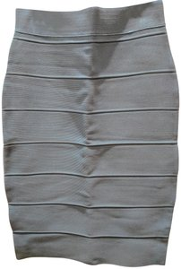 Romeo & Juliet Couture Bodycon Fitted Spring Skirt tone down blue