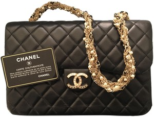 Chanel 2.55 Classic Westminster Black Clutch
