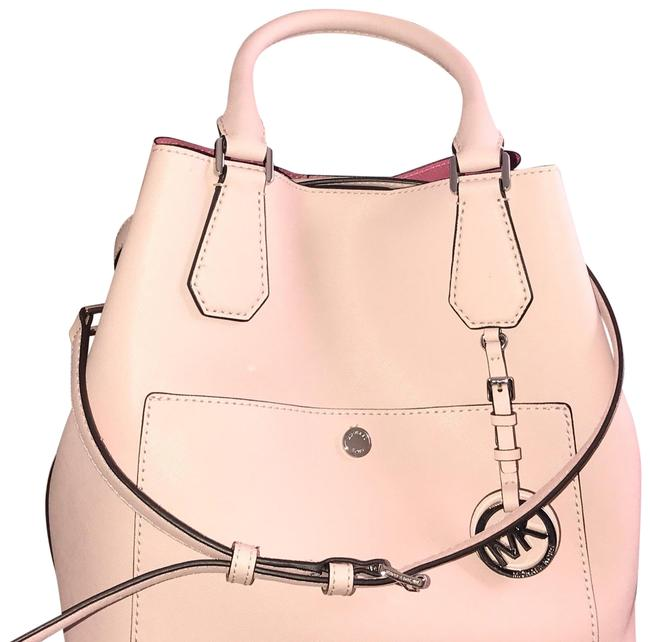 Item - Greenwich Grab Pink Leather Tote
