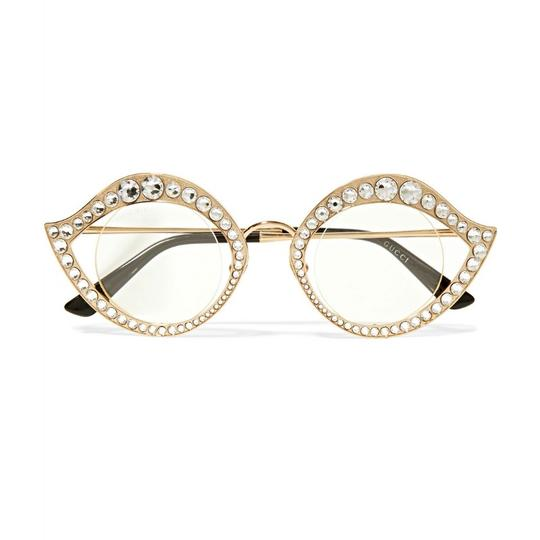 Preload https://img-static.tradesy.com/item/23091401/gucci-gold-cat-eye-metal-glasses-with-crystals-sunglasses-0-0-540-540.jpg