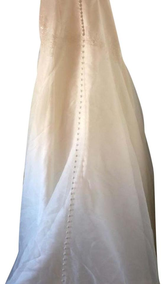 Davids Bridal Ivory Spanish Long Formal Dress Size 12 L Tradesy