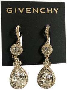Givenchy Swarovski Pavé & Colored crystals Drop Earrings