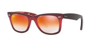 270f2914f5 Ray-Ban Ray Ban Women Sunglasses RB2140 1200 4W Pink Frame Brown Mirror Lens