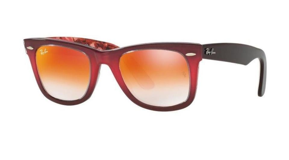 c533043214 Ray-Ban Ray Ban Women Sunglasses RB2140 1200 4W Pink Frame Brown Mirror  Lens ...