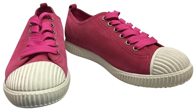 Item - Pink Scarpe Donna In Pelle Sneakers Size US 6 Regular (M, B)