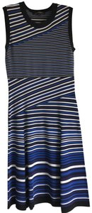 Nanette Lepore short dress multi colored black white blue and plums on Tradesy