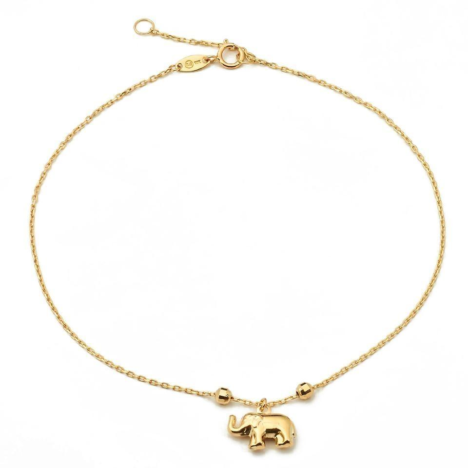 on girls gold item in charms anklet yellow plated aliexpress foot bracelet jewelry accessories color bell from anklets for dance women com new
