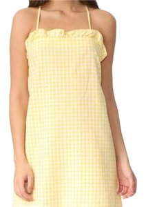 Amanda Uprichard short dress Yellow on Tradesy