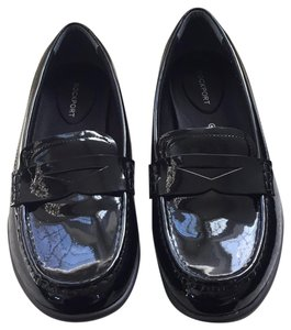 Rockport Loafers Patent Leather Adidas Comfortable Black Flats