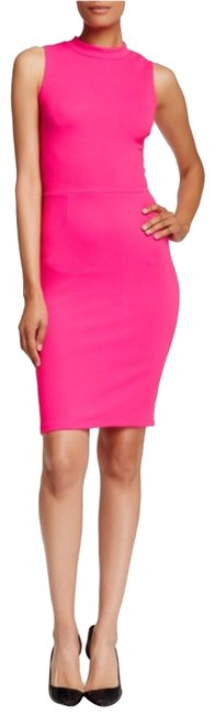 Preload https://img-static.tradesy.com/item/23092961/love-ady-pink-hot-mock-neck-bodycon-short-night-out-dress-size-12-l-0-1-650-650.jpg