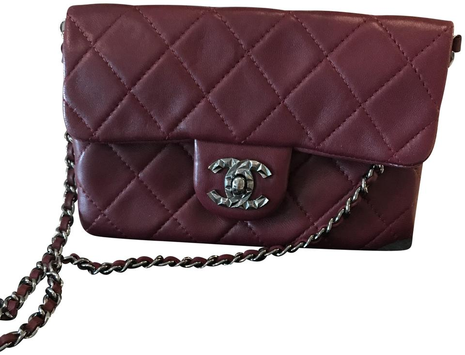 1015d75fbbcb Chanel Wallet on Chain Mineral Nights Mini Flap Classic Quilted Cc ...