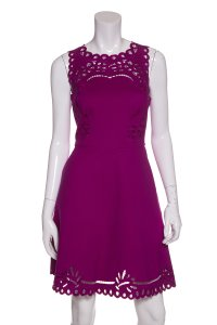 Ted Baker short dress Magenta on Tradesy