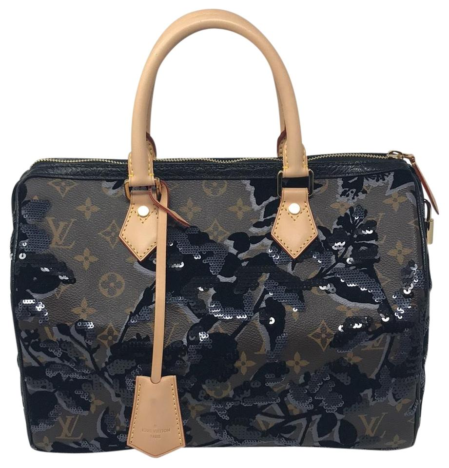 129ec57a1342 Louis Vuitton Fleur De Jais 30 Speedy 30 Limited Edition Speedy 30 Limited  Collectors Satchel in ...