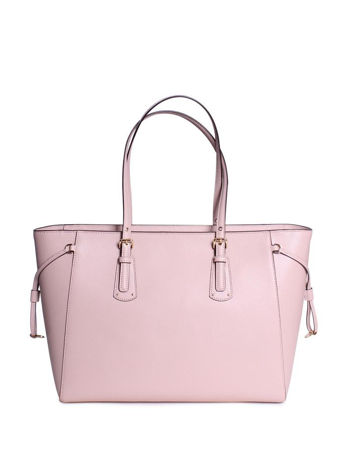 0c27429279 MICHAEL Michael Kors Voyager Love Large Top Zip Handbag Soft Pink Leather  Tote