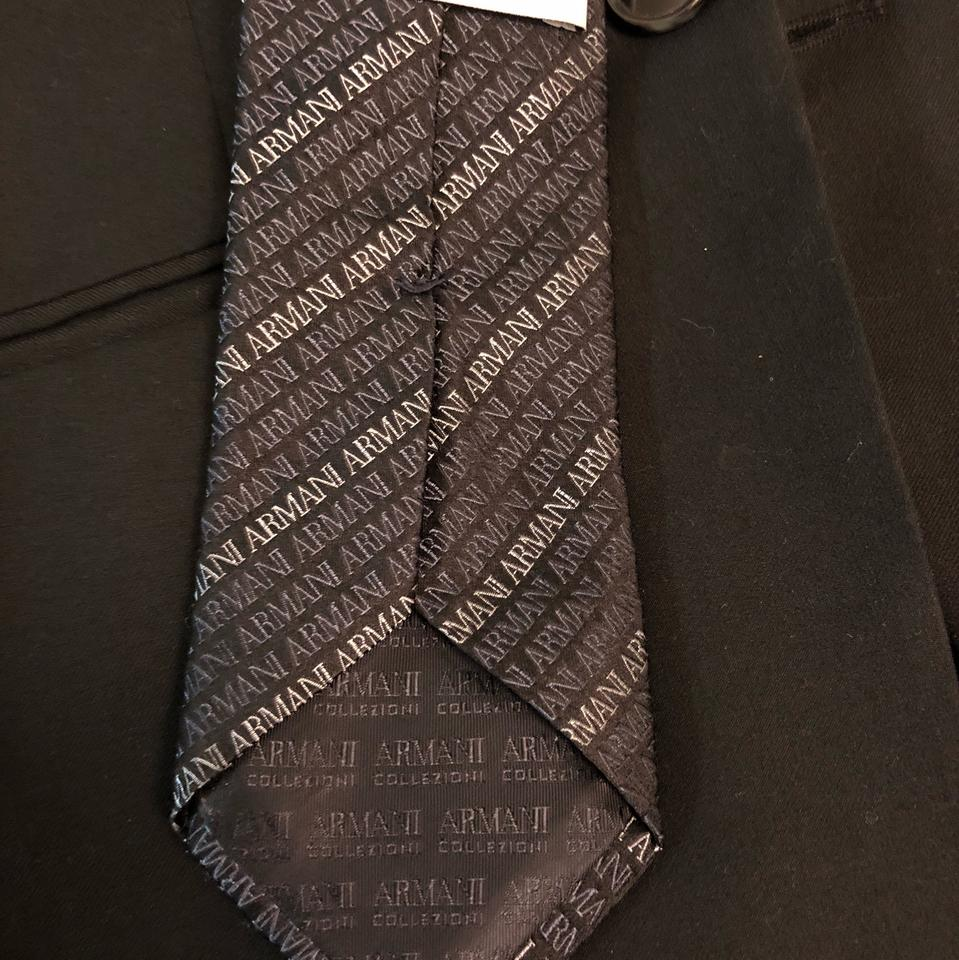 new product 733b3 ce20f Giorgio Armani Collezioni with Logo Pattern Tie Pant Suit Size OS (one  size) 46% off retail