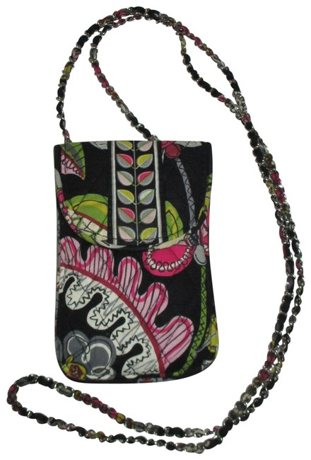 Item - Mini Pouch Black Multi Cotton Cross Body Bag