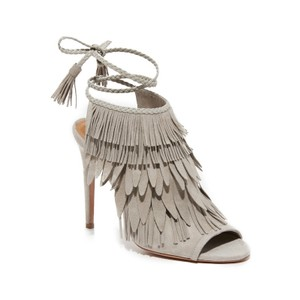 Aquazzura Light Grey Sandals