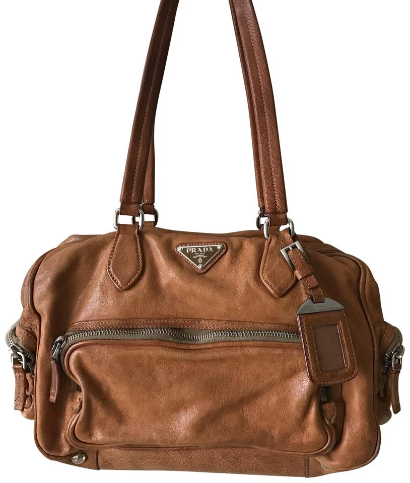 Prada Rare Leather Limited Edittion Tote In Natural