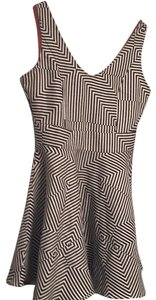 Wow Couture short dress black and white on Tradesy