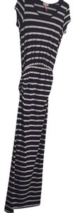 black and white Maxi Dress by Poof! Apparel