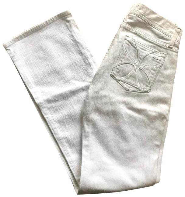 Item - White . Boot Cut Jeans Size 6 (S, 28)