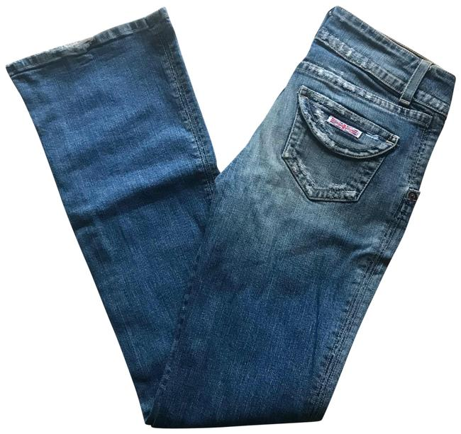 Item - Distressed . Boot Cut Jeans Size 6 (S, 28)