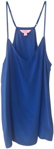 Lilly Pulitzer Spaghetti Strap Camisole Top Royal Blue
