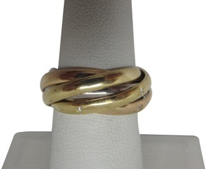 Cartier 6 band Trinity Ring 53-us 7