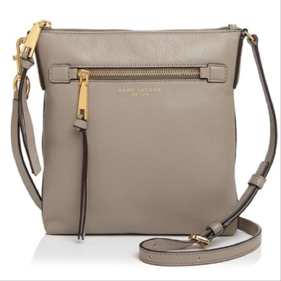 top-rated original outlet on sale recognized brands Marc by Marc Jacobs Recruit North/South Mink/Gold Cross Body Bag 21% off  retail