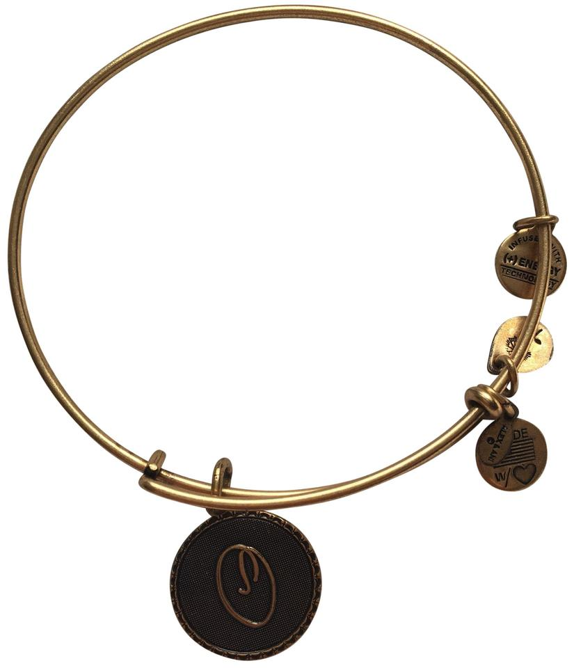 Alex And Ani Monogram Bracelet