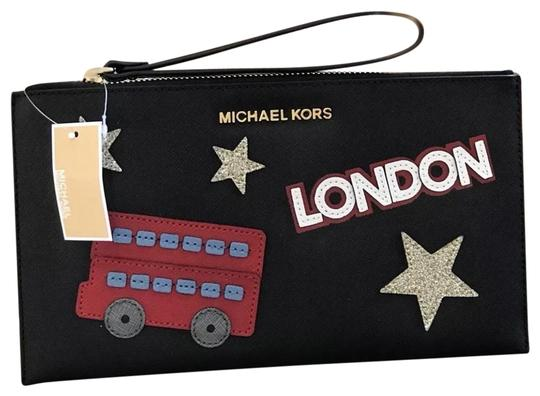 Preload https://img-static.tradesy.com/item/23097452/michael-kors-illustrations-limited-edition-black-leather-wristlet-0-1-540-540.jpg